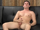23-year-old Bradley Has a Bit of an Exhibitionist Streak In Him and Loves to Please. He Follows Franco's Every Instruction and Looks Right Into the Camera as He Jacks His Thick, Uncut Cock.