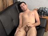 gay porn A055: Jason Hayes || 19-year-old, Tall Ex-football Player Jason Hayes Has Been Working on a Special Trick. He Can Make Himself Cum Without Getting Hard.