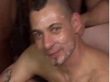 gay porn Puerto Rican Stud Gets || Puerto Rican Stud Michael Vargas Has a Very Nice Ass and You're Going to See It Receive Bareback Fucking Right Here! Oh and Lucky for You There's More! Michael Will Also Enjoy Sizzling Hot Bukkake! Watch This Bareback Bukkake Orgy Now!