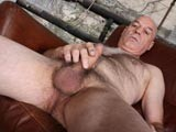 Gay Porn from DaddyStrokes - Hairy-Daddy-Jerks-Mature-Meat