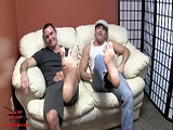 Lance Hart and Cameron Kincade Are Hanging on a Sofa While You Grovel At Their Feet.  They Know You Have a Huge Foot Fetish, and Love to Jerk Off to Videos of Their Feet.  <br /><br />watch Them Taunt You With Their Feet and Laugh About How Much They Love Their Jobs as Male Foot Models.<br /><br />they Start to Get Excited.  Lance Leaves and Comes Back With Loafers.  They Start to Play With Each Other and End Up Going to Town on Each Other's Feet In a Mutual Foot Worship Session While You Watch and They Tease You.