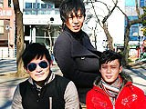 "In This Trio, Two Boys See This as an Opportunity to Have a Ball; the Other One Is Straight. We Have Yura, Khan and Abe for Gayasiannetwork, Who Head Back to a Nearby Apartment. In a Discussion, the Boys Talk About Their Masculinity and Preferences When It Comes to Sex. Abe Is the ""odd Man Out,"" as He Is the Straight One. What a Shame, and Has Such a Promising Sized Dick; Looks Like Abe Will Be the ""hole"" Today. You Can Say, ""no Hard Dick, No Stick."" Abe's the First One to Go In the Middle and Get Some Attention; Both Yura and Khan Work on Abe's Nipples to ""loosen"" Him Up. Yura's the Next to Get Some Love; Khan Lavishes His Dick While Abe Takes Care of the Nips. With Khan the Last to ""get Some,"" Before the Gay Guys ""get Some,"" His Dick Is Already Hard and Yura Has No Problem Swallowing; Abe Stays Above the Waist. With Abe Back on the ""receiving End"" of Both the Gay Boys, His Hole Is Lubed Up and Prepped for a Fucking. Once, Then Two Fingers Go In to Gauge Abe; His Dick Isn't Coming Up, but At This Point, the Other Two Aren't Really Interested In Abe's ""outtie."" Yura's the First to Enter Abe; Yep, It's Tight, but That's What a Straight Boy's Virgin Ass Has to Offer, Nice. Khan Keeps Yura's Mouth Busy and Then Lubes Up Himself. ""coming Aboard,"" Khan Slides Into Yura and the ""train"" Heads on Out. This Is Only Part One, but Don't Tell Abe, He's the ""caboose."""