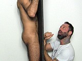 "gay porn G108: Hairy Joe's Glor || Franco Told Hairy Straight Guy ""joe"" About the Straight Fraternity Gloryhole and Convinced Him to Come Over and Give It a Try. From the Sound of It and the Size of His Load, ""joe"" Will Be Back for More!"