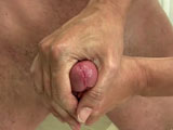 gay porn Grant - Part 2 || Mr. Hand grabs that dick from behind and begins to stroke on it making Grant moan and cry out a bit. As you know our Mr. Hand has quite talented hands. Mr. Hand keeps Grant on his knees as he jerks and pinches his nipples making him moan and cry out. You know he wants to cum hard at this point, but Mr. Hand just keeps teasing him slowly jerking on his meat giving him exquisite pleasure.