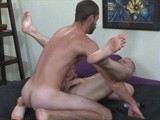gay porn Blue Bailey Is A Cum D || 8 Tops Unload In Blue's Ass!<br />