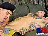 Gay Porn from AllAmericanHeroes - Landons-First-Gay-Blowjob