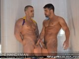 gay porn The Handyman || Handy Diego Wagner Leaves His Customer, Damien Crosse, Very Satisfied.