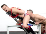 Gay Porn from BoundJocks - Max-Cameron-Tops-Connor-Patricks