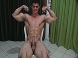 Muscled Cock Play N Juicy Nut ||