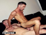 gay porn Bareback Dad Fuck Twin || German Muscle Dad Andrew Bozek Fucking His Underwear Model Alejandro Alvarez, a Nasty Newcomer Twink Model From Portugal the Raw Way