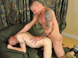 Gay Porn from AllAmericanHeroes - Private-Tyler-Drills-Corporal-Anderson