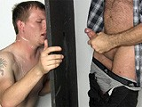 gay porn G114: Lane || Lane Needs to Shoot a Load Badly and Is Willing to Get Off At an Anonymous Gloryhole. He's so Excited That In No Time He Dumps His Huge Load. Lane Even Does What the Other Guy Says and Gags on His Big Dick. He Follows Instructions and Ends Up Coated In a Layer of Cum.
