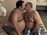 gay porn Daddies Big Round Hair || a Big Hairy Daddy Bear With a Big Round Belly Bottoms and Tops His Younger Chub Cub!