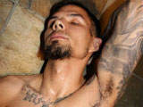 gay porn Tomahawk || Tomahawk is a tatted Native American surfer stud who needs to get down and dirty while getting clean. He stares into the camera, shows off his awesome hairy pits and pubes, and lathers up getting every hairy orifice before finishing the job at hand.