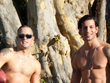 gay porn Austin And Eyal || Austin and Eyal - Hot Duo! Naked Muscle Football in Hawaii!