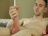 Bisexual Brit Lad Craig Has a Big Uncut Cock and Cute Tight Fuck Hole