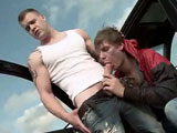 Gay Porn from bigdaddy - Hitchhiking-For-Outdoor-Anal-Sex-Part-1
