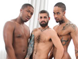 Gay Porn from NextDoorEbony - Triple-Take