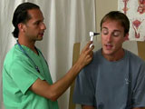 gay porn Dr Makums Visit - Part || While Dr. Phingerphuk was on vacation, he asked Dr. Makum to fill in for him. His first patient was Bobby complaining of sore throat and trouble sleeping. Instantly, the doc knew what to do. It seemed that Bobby has a liking to medical situations because of his major.