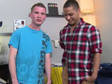 gay porn Skyler Fox Tops Jaden  || Skylers watched plenty of porn, but its his first time actually being in it, and hes paired up with Jaden, our used-to-be-straight guy whos enjoyed getting his ass pounded so much that he considers himself bi now, so were welcoming him over to College Dudes!