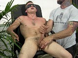 gay porn R143: Damian Blindfolded || 26-year-old Damian Is Willing to Be Tied Up, Blindfolded and Groped by Another Guy for the Right Price. He Loves the Sensory Deprivation and All the Attention on His Cock, and When His Hands Are Finally Freed, He Stands Up and Jacks Out a Huge Load.