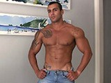 gay porn Beefcake || Full Lips, Broad Shoulder, Chiseled Six Pack and a Rock Hard Body He's Built At the Beach. This Hot Jock Has It All.