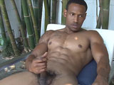gay porn Big Black Darius Is Ba || Big Black Darius is Back! Hung Afro-American Muscle Jerks Off in Hawaii!