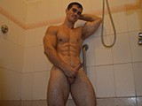 gay porn Horny Jock In The Show || Watch Me Shower as I Turn Myself on With My Hot Ripped Muscles, While Stroking My Cock and Playing With My Hole Until I Bust a Fat Creamy Load