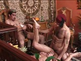 gay porn Arabian Playhouse || Here Is Another of Our Fantasy Features as You See Brazilian Studz Transform Into Arabian Knights!! Even While Imad Aldin Is Getting Blown by Manuel Lozano He's Thinking Back to a Three-way With Bayyah Azhar and Wajid Talib. Seeing What Bayyah Has Between His Legs Makes It No Surprise. Bayyah's Cock Is Made for Fucking. Watching Him Go After Imad's Hole Is Enough to Get Any Man Off. Just When You Think There Can Be Nothing Hotter Than Watching Imad's Throat and Ass Swallow Bayyah's Rod, Wajid Fills Imad's Butt With a Huge, Phallic Gourd. Bayyah Holds Open Imad's Gaping Ass While Wajid Fucks Him With the Vegetable. the Cum Shots That Close This Hot Scene Will Make You Wish You Were the Cameraman.<br />