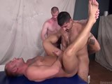 Gay Porn from RawAndRough - Preston-Takes-3-Loads