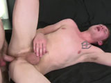 gay porn Ronan Kennedy Fucks Ja || Once Jakes ass is a little more accustomed to the feel of a huge prick inside it, he switches positions and takes that dick a couple different ways as Ronan goes a little faster, shoving his bareback cock into Jake until they both finish with some nice cumshots!