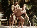 "gay porn Gay Macho Icon Bruno - || Bruno, With His Hunky Chest and Inimitable Burly, Butch Good Looks, Was Perhaps the Quintessential Gay Porn Icon From the ""gay Macho"" Period of the 1970s and Early 80s. Here, He Fucks Muscular Josh Kincaid by Outdoors by the Pool In the Short ""master Lesson"" Featured In the Best of Bruno Volume 1 and Bullet Videopac 9."