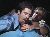 Jack Wrangler and Jayson Macbride Fuck In the Rafters In This Scene From the Classic Gay Porn Film by Jack Deveau, a Night At the Adnois (1978), Set In the Famous New York Porn Theater.