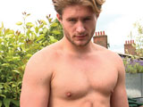 Gay Porn Video from Englishlads - Handsome-Straight-Lad-Aaron-Strips