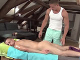 gay porn Anal Sex Massage - Par || Dick wanted a good masage, so Patrick said he would give him the best. He rubbed him so good, make all his muscles feel good. then Partick rub dick with rubber Dick to maximize his pleasure. Then Patrick give Dick pleasure by sucking Dick and then he was ready for the buttfuck.