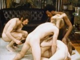 gay porn Classic Gay Orgy Scene || the Night Before (1973), a Surreal Hand In Hand Film by Director Arch Brown Offers a Funny, Touching and Realistic Look At Lovers and Their Responses to Jealousy and Carnal Lust.<br />casting a Group of Men of Varied Types and Cock Sizes, the Action Is Passionate. This Vintage 5-man Orgy Scene Features Food Fetishes, a Large Black Dick Emerging From a Fruit Bowl, a Massive Double-headed Dildo Penetrating an Entire Body, and More!