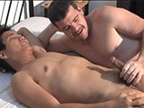 gay porn Ricky's Torment Mike || Ricky Gets Stripped Down and Strapped Down Again and This Video Is 80% Foot Tickling His Very Ticklish Feet. Listen to Ricky's Classic Signature Pleads and Giggling as My Fingers Zip, Flicker, and Dance All Over Is Ticklish Asian Soles. It's Obvious I'm Enjoying This Because I'm Sporting a Major Stiffy Nearly the Whole Time. This Video Ends With Both of Us Kissing, Jerking, Then Blowing Our Loads.<br />