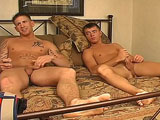 gay porn Hunter And Garret || Hunter is such a hot example of a buff, rough and tough devil dog and his buddy Garret is a compact, tight little package that holds his own. Garret has the most beautiful blue bedroom eyes and the cutest ass while Hunter is packing the cock we all dream about and an ass that any of us would love to service.