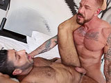 gay porn Rocco Steele And Raul  || He meets lebanese/italian bottom Raul Korso in this sunny episode and fucks him relentlessly until his ass is sore. But Rocco doesnt stop then! He goes on sliding his thick raw pole in and out of Rauls hole and enjoys his moaning and lustful pain.