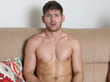 gay sex porn He's Got A Little Sway || Cute Bait boy Aaron Slate returns for his fifth appearance and he's excited, because he just found out that he'll get to play with a straight guy - an uncut straight guy - and we know that he loves to play with foreskin. But, as soon as we meet our straight guy Connor we immediately realize that he has a lot more to offer than his 7.5'' uncut cock. At 23 years old, he's as handsome as they come. He's 6'1'' of hot masculinity with a muscular body, a 6 pack, great pecs, great legs, and a great, rock hard bubble butt.  Caruso gives the boys the standard porn audition spiel and lets Connor know that he has to prove he can be comfortable stripping down, jacking his cock and getting hard in front of a camera and another dude, before he brings a girl in for the shoot. Connor, as all the first time straight guys do, buys into it and our mouths start watering as he strips down and works his big uncut cock up to it's full length. He gets so hard that his cock sticks up on a 90 degree angle.  Aaron isn't missing out on any of the visuals, he can barely keep his eyes off this stud. So, now that they've passed the test, Caruso leaves the set  to get the 'girl'.  It's obvious that Connor is nervous sitting naked and hard next to another naked guy, so he tries to strike up a conversation. He asks Aaron if the girls are cute, to which Aaron replies ''it's porn, they have to be cute'', ''that makes sense'' he says.  More time passes and Caruso has yet to return, so Connor asks ''this isn't weird for you'' and Aaron says ''you have to be open minded... whatever gets a paycheck''. Little does Connor know how real it's all going to get in just a minute or two when he'll find out just what he has to do to get that check!  Caruso returns with the bad news, the 'girl' flaked out and he offers them their only alternative to get paid - double the money to have sex with each other. Connor is stunned and says ''no'' and he appears to get ready to scoot. So, Caruso quickly asks him ''you ever thought of doing something with a dude'', Connor has to think - he hesitates and then says no. His shaky answer tells Caruso that he will get the straight boy once again. And, within a few minutes Connor gives in and Aaron gets right to jacking this hot, straight hunk's big cock. Connor seems to be enjoying the handjob, so Aaron places Connor's hand on his own cock and they're now doing a JO swap. Before long, Aaron goes down on Connor's beautiful penis, sucking it real good and Connor is really getting off on it. Caruso has them stand up and before they even get to do much 'sword fighting', Aaron can't wait and pulls Connor in for a kiss. It's so fucking hot, because Connor really goes for it and eventually takes charge, pulling Aaron in for even more tongue action. Both boys are really into this open mouth, tongue wrestling session and it goes on until Caruso tells Connor it's his turn to suck Aaron off. The stud doesn't hesitate. He tentatively puts the head of Aaron's cock in his mouth and realizes it doesn't taste bad like he thought it would and in the blink of an eye he starts sucking cock and deep throating like he's been doing it forever and would've kept going if Caruso didn't stop him to move on to fucking.  Caruso even asks him if he's ever sucked dick before and he tells Caruso ''never''. Caruso muses that Connor took to cock sucking ''like a like a fish to water''. Connor has made it clear that he'll be fucking Aaron and not the other way around. Nobody could be happier about that than Aaron. Connor gets prepared, sitting on the couch with his cock pointing straight up to the heavens as Aaron sits down on it and starts humping away. Both boys are enjoying this part - you can hear them moaning in unison - and check out the facial expressions which tell the whole story. From the position he's in, you can see Connor trying to thrust up into Aaron's hole to get as deep inside as he can. Soon they change positions with Aaron on his back. Now you see Connor show off his pussy pounding talent as he hunches his beautiful muscular ass and pounds Aaron's well used hole with utter abandon. Aaron isn't pushing him back, instead he's taking every bit of hard driving cock as he alternates moans of ''oh yeah, fuck yeah, oh yeah''. Aaron is now stroking his cock like a jackhammer while Connor varies his speed and thrust power until Aaron yells out ''I'm gonna cum''. Connor, like most of these straight boys handles it just like he was fucking pussy and speeds up and thrusts even harder as he fucks the cum right out of Aaron. As soon as Aaron is satisfied, Connor pulls out and jacks a load all over his own belly. We're thinking that he's been told by lots of girls ''don't get any of that stuff on me'', but we'll find out differently in a moment.  Caruso now sends the boys to the shower to clean up and relax a bit before doing the 'After the Shoot' interview where Caruso asks Connor if he shot on his own body because girls generally don't like the cum on them. The surprising answer from Connor is ''I do it because it turns me on'', Caruso is taken aback when he hears that - it's a first from a straight dude! He also asks the boys ''how many sex partners have you had''. Connor answers 20 to 30 girls. Aaron admits to that amount, but it goes up from there and Caruso quips that it would be a good thing for Aaron to stop estimating at 100. Aaron goes a bit further and also admits they were guys. Upon hearing this, Connor says ''a little swishy'' and when Caruso asks what he means, he says that ''he does stuff with guys''. Caruso now asks Connor if he'd have sex with a dude again and Connor says ''yes'' - to which Caruso replies ''a little swishy'', ''I got a little sway'' answers Connor.