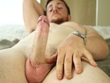 London Labourer Jamie Is Tall, Heavy and Big Feet, a Beautiful Uncut Cock and Multiple Cum Spurts