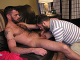gay porn Ramsey's Huge Cock Aka || This straight guy is furry, has a huge cock, and is a blue collar worker! What more can we ask for? Ramsey is a tradesman, he installs dry wall, has a girlfriend who just moved away and has no problem using a guy's mouth for his own selfish pleasure.  Ramsey has become a blowjob connoisseur and is not shy about telling his cocksucker, just how they should suck his cock.