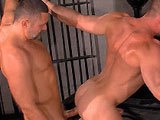 gay porn Heavy Load Scene 2 Han || As they finish up work at a sex club, Mack Manus and Hans Berlin are aroused by their surroundings. Mack rubs his boot on Hans groin, taking out his own cock. Hans smiles up at him before deep throating the thick meathis own dick throbbing below. Mack cups his sac and feeds it to Hans, then sucks him backgripping Hans balls as he worships the big uncut rod. Mack licks his fingers to tease Hans ass as he sucks him. Mack gasps for air, Hans rubbing his boot on Macks cockwho grinds on it in a hot shot. Hans whips his dick on the suckers chest, Mack spitting on it before feasting on Hans hole. Hans gets plowed from behind, arching his back as his smooth muscles flex beautifullyhis rock-hard cock bouncing with every deep thrust. Hans grips onto chains for supportwhich he also does as he sits down on the top and rides him balls deep, his boner continuing to bob. Hans gets on his back fo r more, the two soon squirting.