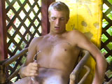 "gay porn All-natural Blond Aaro || Aaron, the super cute super flirty blond surfer is back, now naked at the beach and working at his house!  He is just as friendly and comfortable running around naked as he was before.  This straight surfer with the great white furry ass agreed to a photo shoot in the cluttered Island surf shack he shares with a friend.  Watch as he chops down a banana tree with a 14"" machette, wearing only flip flops!  His beautiful sun-bronzed skin becomes wet with sweat and dirty as he works.  Like Stella, he looses himself in his outdoor nudist work and forgets he is not wearing clothes!  His friendly face and the sparkling diamond studded earrings he wears make his look like a frat boy anyone would want to meet!  The best footage is of eager Aaron, stripping naked out in public on a black sand beach and climbing on his surf board for his first attempt at SURFING NAKED!  Look at that bone white bubble butt baking in the hot Hawaiian sun on the end of his surf board!  Sweet, sexy Aaron is super HOT!  If you have you ever wanted to see what the American actor Woody Harrelson would look like showering naked outside, check out Aaron's face as he showers with the garden hose.  Like Layne, Ricky and Lance, Aaron is an all-natural blonde Island Stud we are pleased to see in the ocean daily - catching waves."