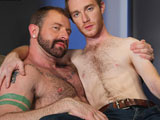 gay porn Hotel Hook-up Episode  || Nothing is hotter than meeting a hairy daddy in a hotel lobby and having a hole smashing good time. In this scene, an unsuspecting Seamus OReilly is feasted upon by sexy furry guest Aleks Buldocek. Dont mind the lubed handprints as you check your bags and check out this smoking sex scene.