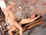 gay porn Riding A Hard Prisoner || Dan Is Too Tempting a Sight for Young Twink Deacon to Refuse! He Rides Him to Get Off.