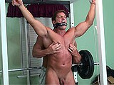 gay porn Buff And Bound D || See More Bondage Action on Frank Defeo Site