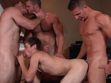 Men.com presents Houseboy Part 3 with Johnny Rapid Landon Conrad Logan Vaughn and Paul Wagner