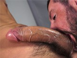 Cumhound Shane Gets Facefucked ||