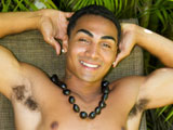 "gay porn Buff Hawaiian Stud Kah || I like local Hawaiian girls with a FAT ASS, as long as they are beautiful,"" Kahekili says with a smile while stroking his BIG beautiful Hawaiian cock! This sexy straight athletic 19 year old Hawaiian boy from Maui is named after the ancient Hawaiian Chief of that magic tropical Island! Kahekili's beautiful face and tight ripped muscle jock body is sculpted from years surfing big waves and dancing hula. Kahekili comes form a long line of hula dancers and he agreed to preform a popular hula dance fully naked with a throbbing boner for us all to see! Wow! What a treat - A REAL HAWAIIAN HULA DANCER, dancing with a HARD DICK! A true Hawaiian hapa, Kahekili is part Hawaiian, Puerto Rican & Portuguese. His golden brown skin and friendly Island smile is so seductive. Listen to him speak in the local Hawaiian pidgin dialect about his family and his years of learning hula as a young boy on the Island. Once he strips off his grass skirt, Kahekili exposes his big biceps and beautiful brown bubble butt! His ripped six pack of abs moves to the music! Never before have we seen a professional hula dancer perform naked! The camera captures Kahekili's tight ass and thick athletic thighs from all angles. Watch his throbbing cock slap against his golden brown thighs as he dances hula! This sexy nudist local boy loves the camera and it shows! After his HOT SWEATY naked dance, Kahekili sits down in a chair by the bananas outside to enjoy his BIG chocolate native dick and heavy brown ball sack! Watch how this Hawaiian jock jerks his beautiful cock. He stares directly into the camera as he jerks. Watch when he busts a BIG LOAD of Hawaiian milk all over his ripped abs and brown cock. There is something so sexy about seeing white jizz covering a sweet golden brown body. Kahekili's sexy soapy shower scene is not to be missed! If you have ever wanted to see a REAL Hawaiian hula dancer strip naked and perform an erotic ancient hula for you, this film is NOT to be missed! Kahekili is one of the most sexy Hawaiian boys we have met on the Islands! Catch this professional hula dancer performing for tourists in his hotel show! His sexy Hawaiian moves are breathtaking! Enjoy this local Island Stud!"